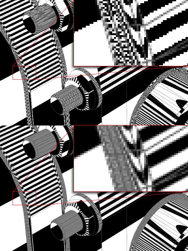 Anti-Aliased Stripe Shader