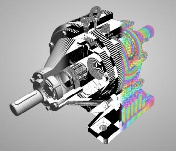Shapeflow 3D diagonstic override rendering modes