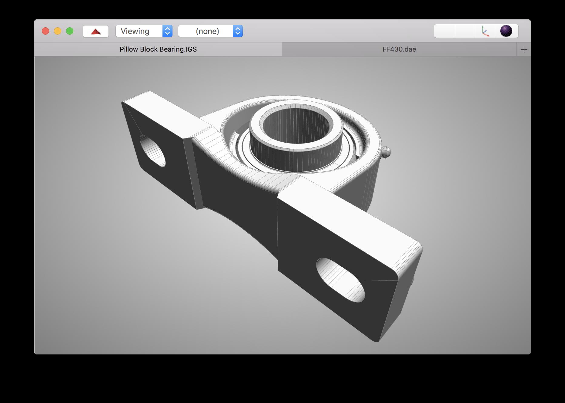 Tabbed NSDocument-based macOS Rendering